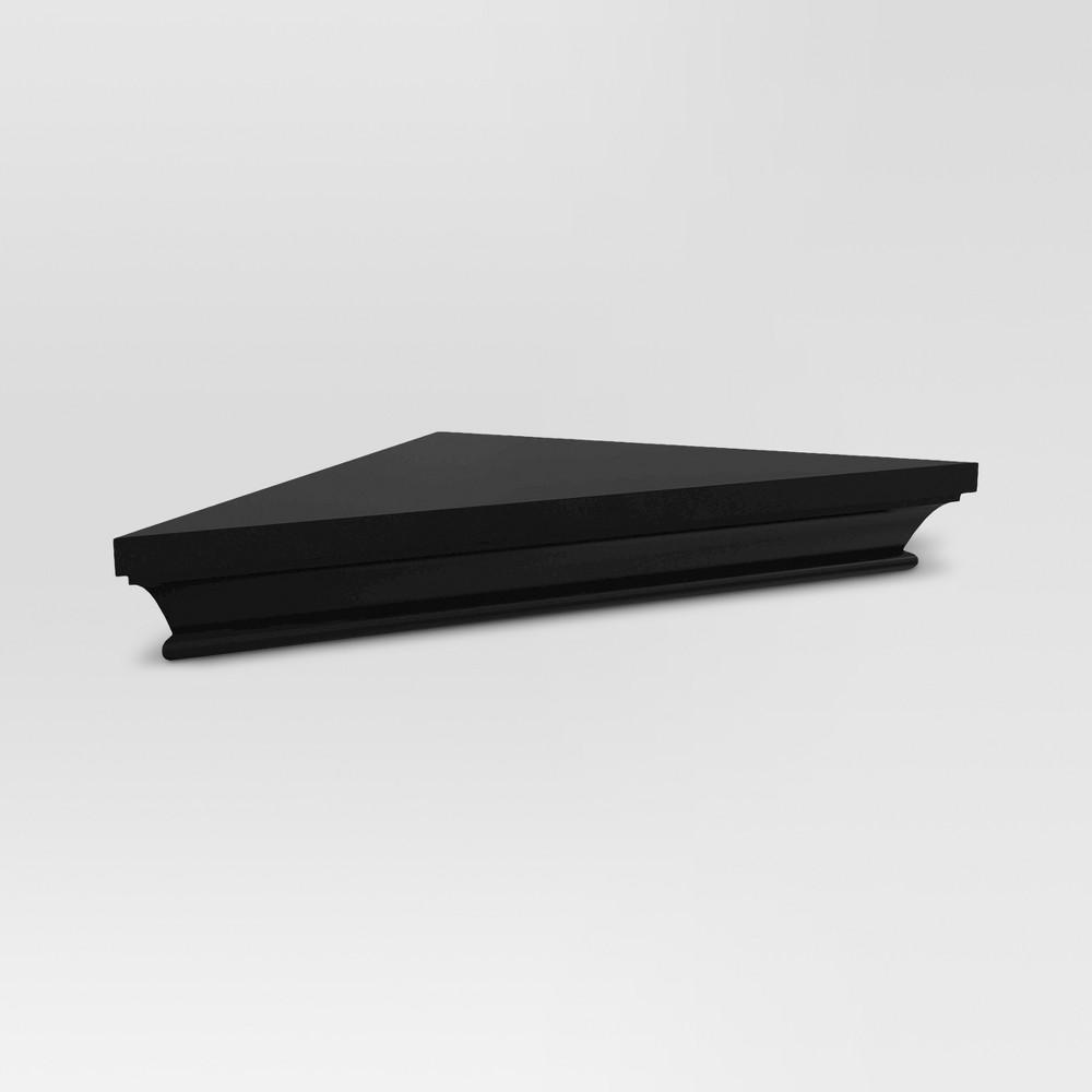 Classic Corner Shelf Black - Threshold