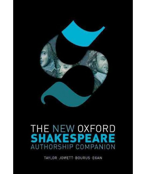 New Oxford Shakespeare Authorship Companion (Hardcover) - image 1 of 1