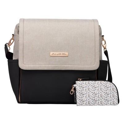 Petunia Pickle Bottom Boxy Backpack Diaper Bag - Sand Black