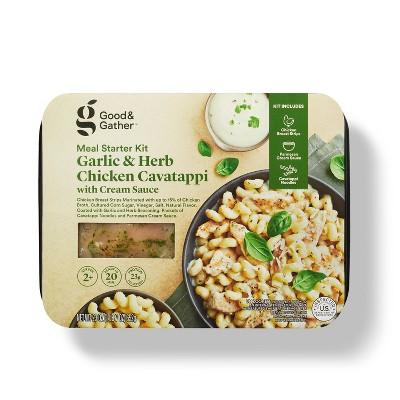 Garlic & Herb Chicken Cavatappi Meal Starter Kit - 23oz - Good & Gather™