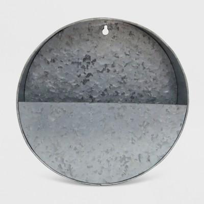 10  Iron Galvanized Wall Planter ™ - Smith & Hawken™