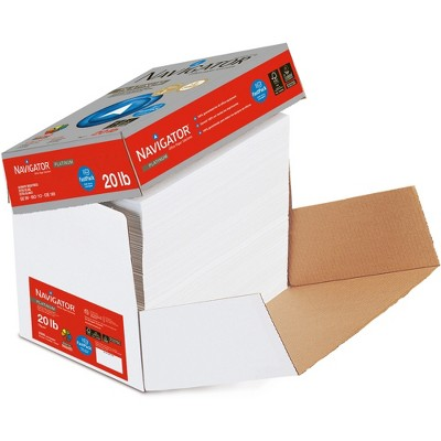 "Navigator Premium Paper GE99 20lb 8-1/2""x11"" 2500Sht/CT White NPL11FP"