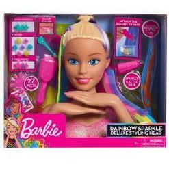 Barbie Rainbow Sparkle Deluxe Styling Head