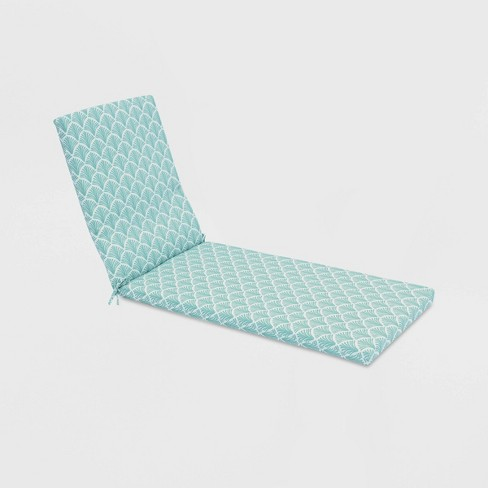 Fan Outdoor Chaise Cushion - Threshold™ - image 1 of 3