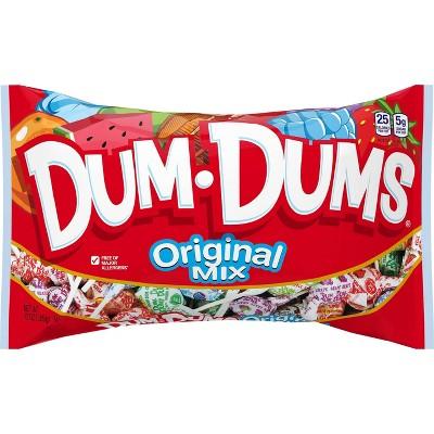 Dum Dum Original Assorted Flavors Lollipops - 13oz