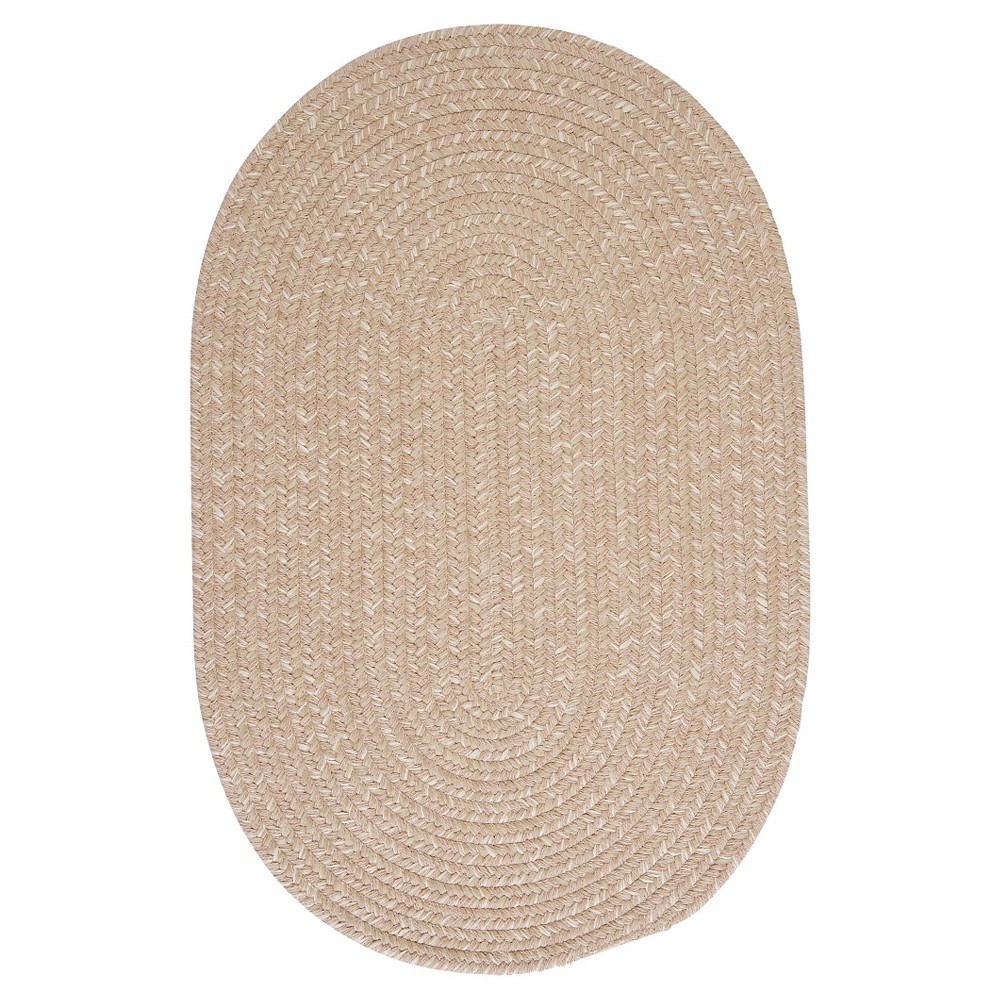 Reviews Tremont Braided Area Rug - Oatmeal - (10x13) - Colonial Mills