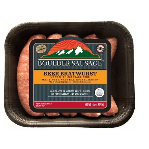 Boulder Sausage Beer Bratwurst Links - 5ct/14oz - image 1 of 1