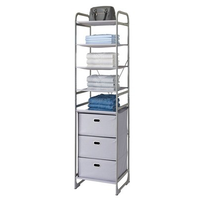 Neatfreak Versa System 3 Shelves Gray