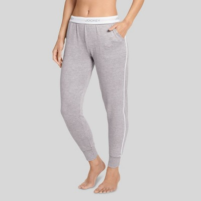 Jockey Generation™ Women's Retro Vibes Ribbed Jogger Pajama Pants