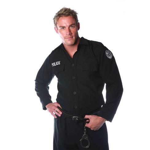 Men's Police Shirt Costume - image 1 of 3