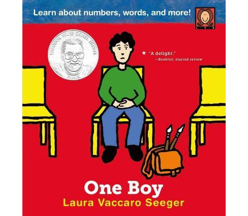 One Boy (New) (School And Library) (Laura Vaccaro Seeger) - image 1 of 1