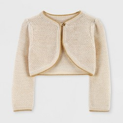 Baby Girls' Holiday Cardigan - Just One You® made by carter's Beige