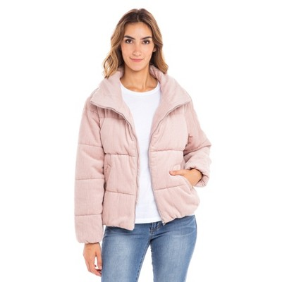 Sebby Corduroy Puffer Jacket
