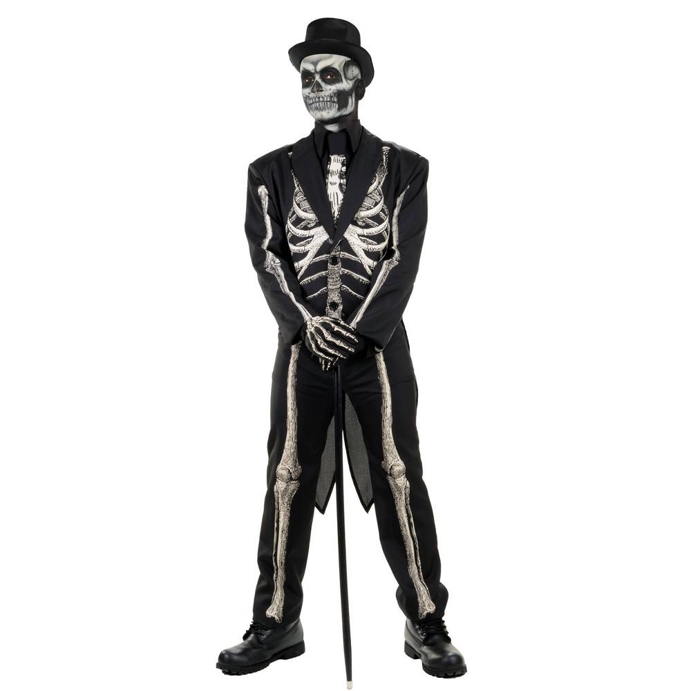 Adult Bone Chillin Halloween Costume L Xl