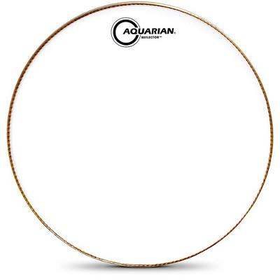 Aquarian Ice White Reflector Bass Drum Head