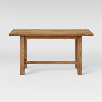 60  Gilford Dining Table Rustic Brown - Threshold™