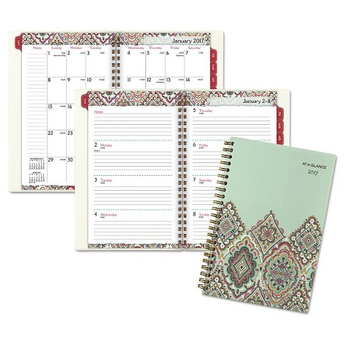 AT-A-GLANCE® Marrakesh Desk Weekly/Monthly Planner 5 3/4 x 8 1/8 2018 - image 1 of 1