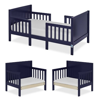 Dream On Me 3-in-1 Convertible Toddler Bed - Navy