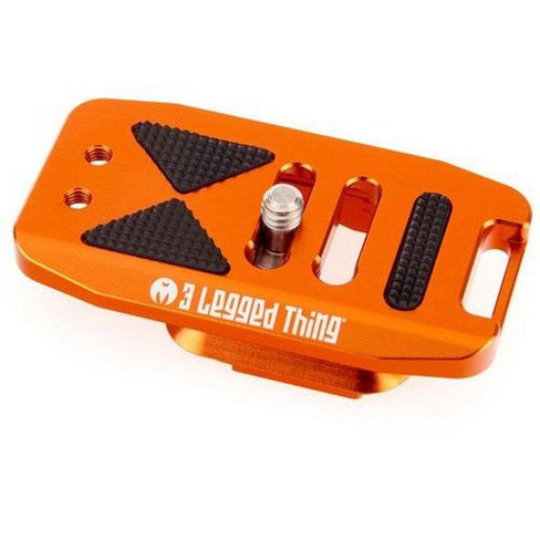 3 Legged Thing Base70 PD Arca Swiss and Capture Compatible 70mm Wide Quick Release Plate, Copper, Orange - image 1 of 4