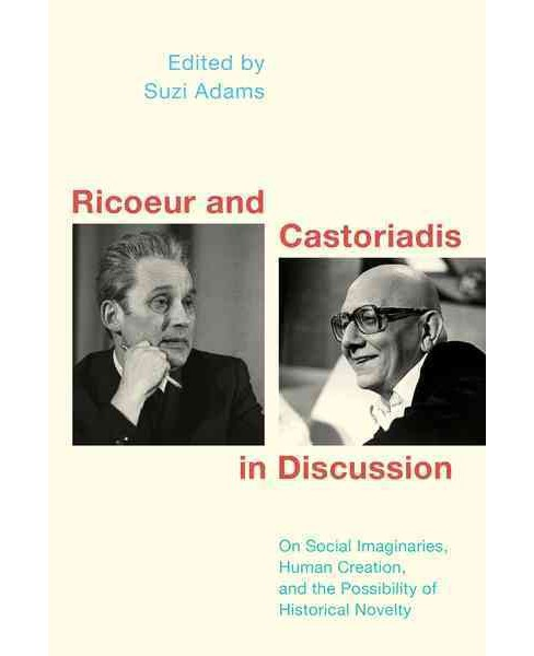 Ricoeur and Castoriadis in Discussion : On Human Creation, Historical Novelty, and the Social Imaginary - image 1 of 1
