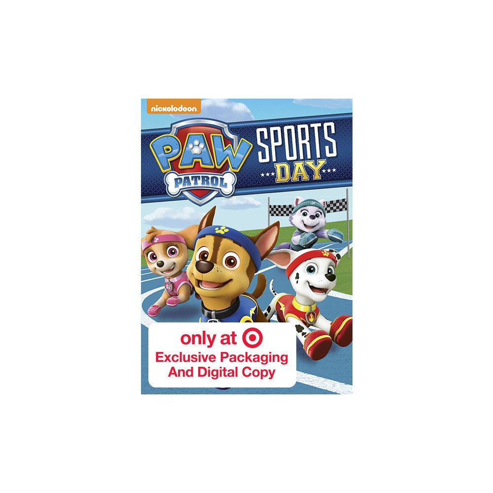 Paw Patrol: Sports Day! Target Exclusive (Dvd)