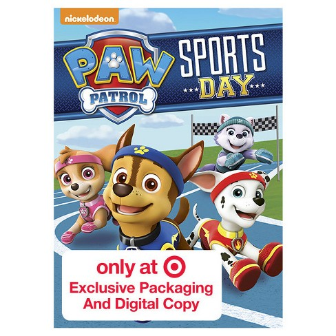 Paw Patrol: Sports Day! Target Exclusive (DVD) - image 1 of 1