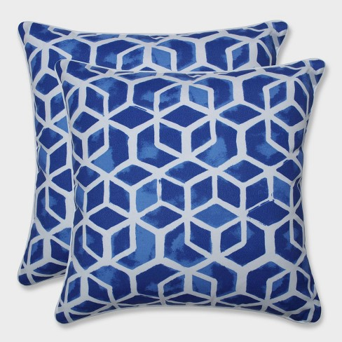 """18.5"""" 2pk Celtic Admiral Throw Pillows Blue - Pillow Perfect - image 1 of 1"""