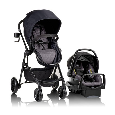Evenflo Pivot Modular Travel System with SafeMax Infant Car Seat - image 1 of 4