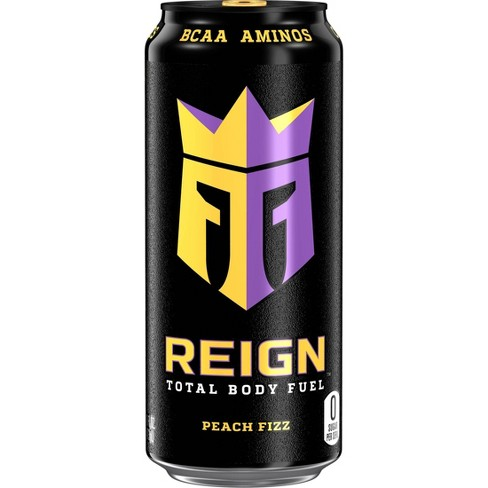Reign Peach Fizz Energy Drink - 16 fl oz Can - image 1 of 1