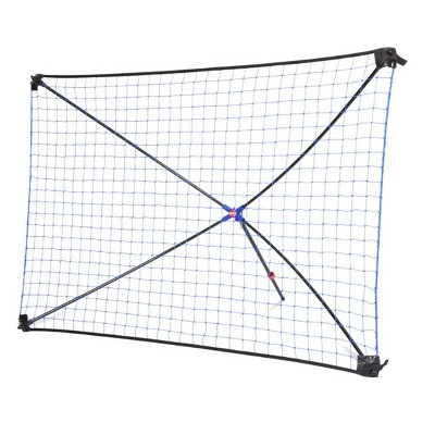 Net Playz Easy Kickback 5' x 3' Portable Soccer Rebounder Net - Black
