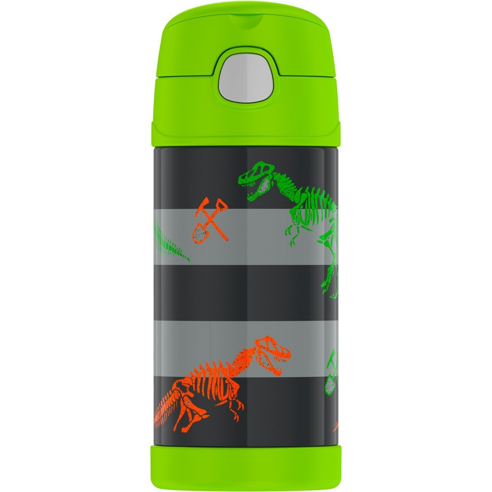 Thermos Crckt 12oz Funtainer Water Bottle - Dino, Pink