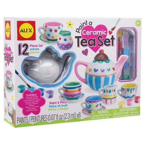 ALEX Toys Paint a Ceramic Tea Set - image 1 of 4