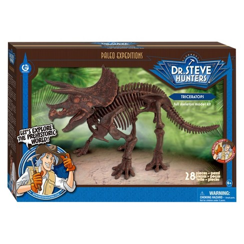 Geoworld Dr. Steve Hunters Paleo Expeditions Kit - Triceratops - image 1 of 5