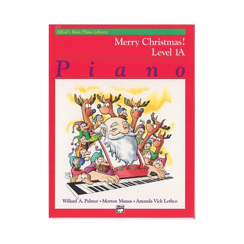 Alfred Alfred's Basic Piano Course Merry Christmas! Book 1A - image 1 of 1