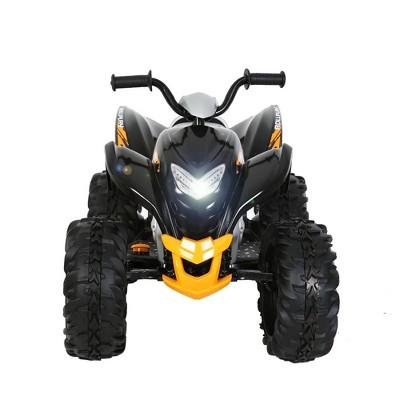 Rollplay 12V Powersport ATV Powered Ride-On - Black/Yellow