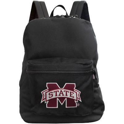 NCAA Mississippi State Bulldogs Black Premium Backpack