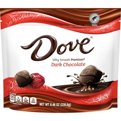 Dove Promises Dark Chocolate Candies - 9oz