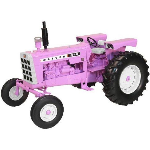 Oliver 1850 Tractor with Perkins Diesel Purple 1/16 Diecast Model by Speccast - image 1 of 2