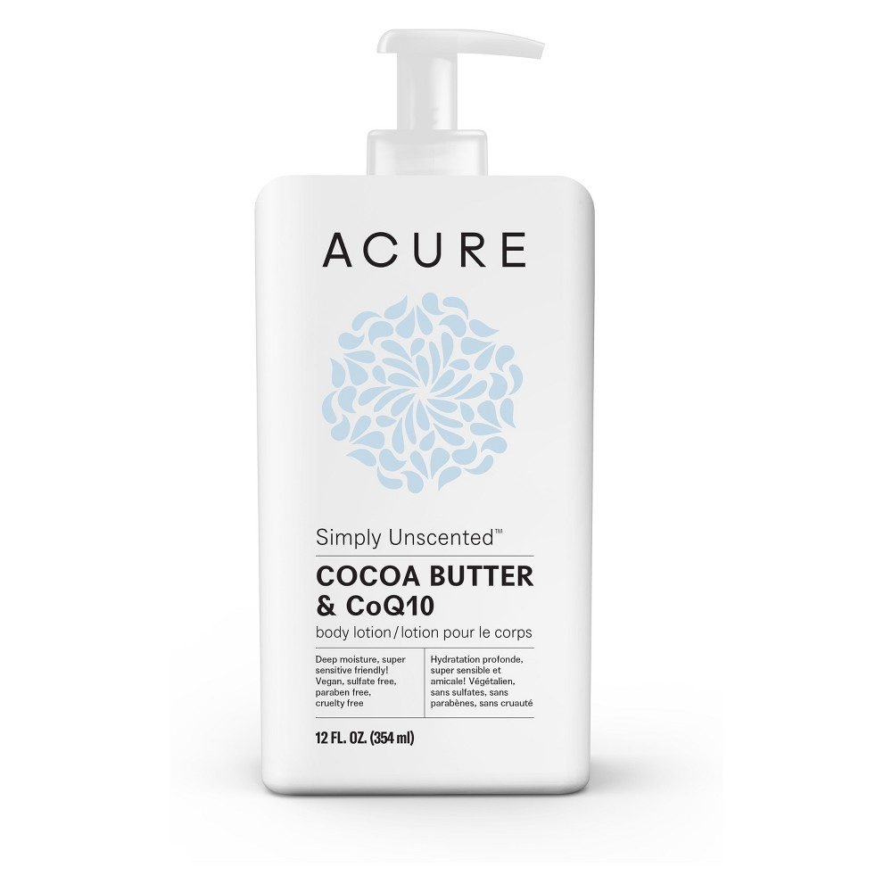 Acure Simply Unscented Body Lotion - 12 fl oz