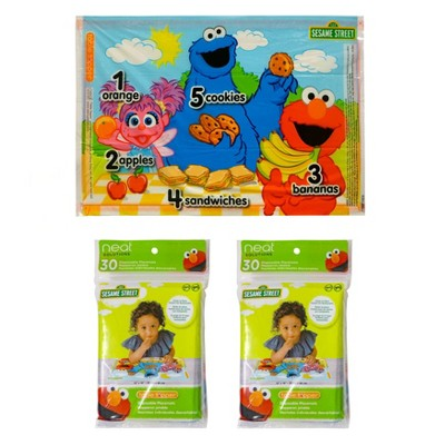 Neat Solutions Sesame Street Disposable Table Topper - 60ct
