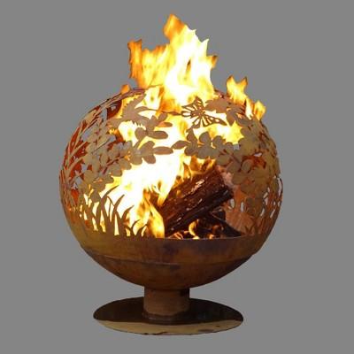 Laser Cut Garden Fire Sphere L - Esschert Design