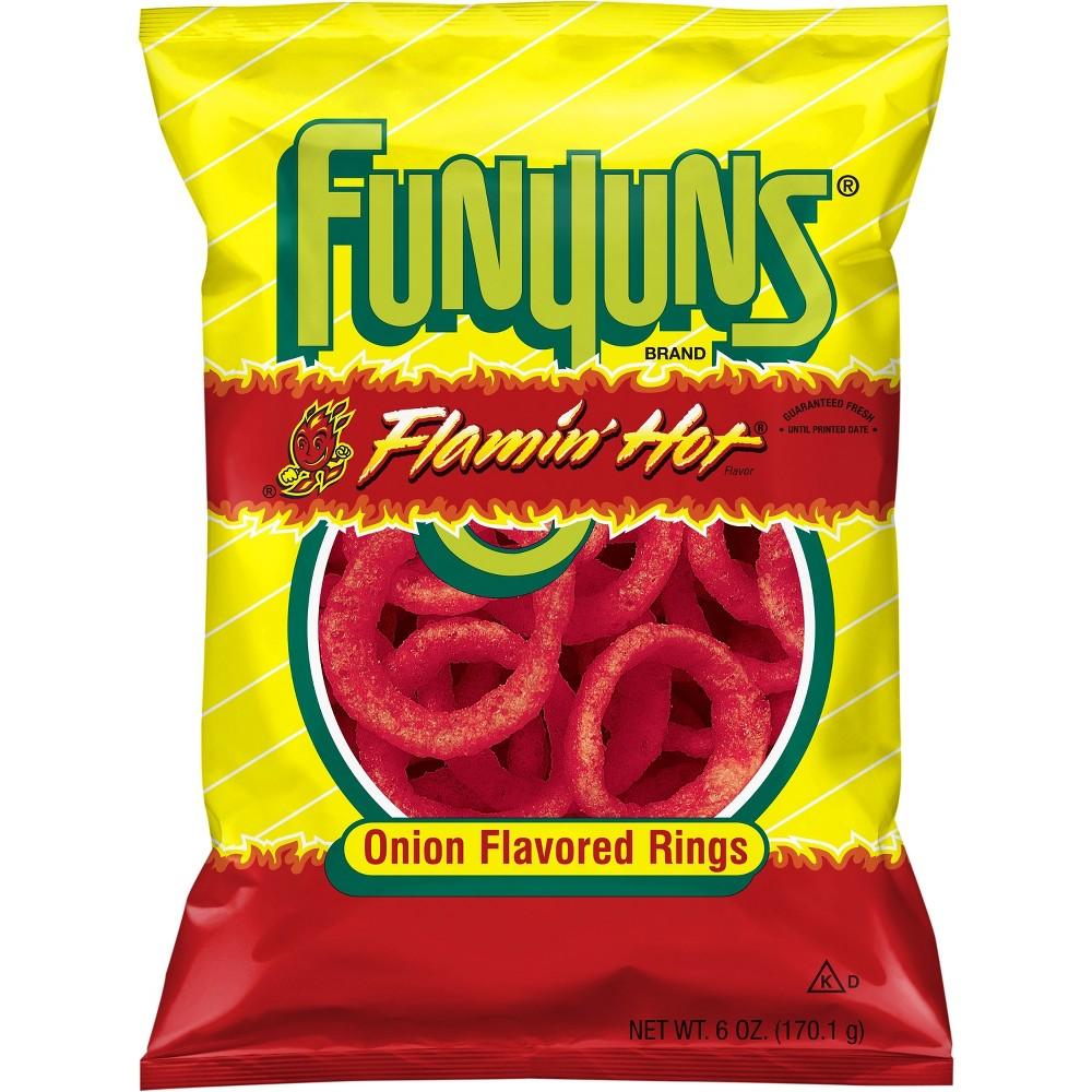 Funyuns Flamin Hot Onion Flavored Rings 6oz