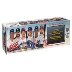 Topps MLB Baseball Trading Card Complete Set with Relic