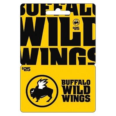 Buffalo Wild Wings $25