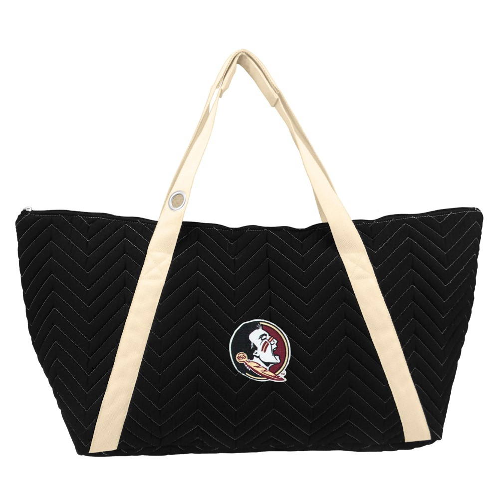 NCAA Florida State Seminoles Little Earth Chevron Stitch Weekender Bag