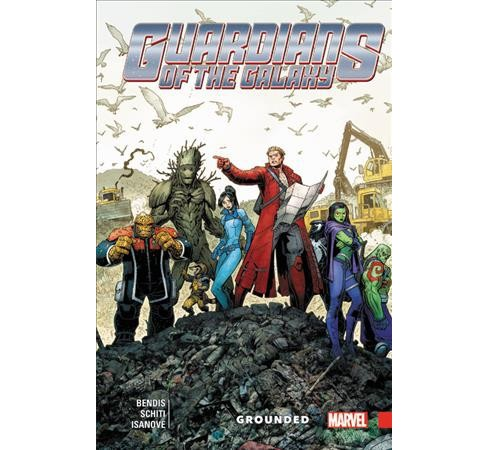 Guardians of the Galaxy New Guard 4 : Grounded (Paperback) (Brian Michael Bendis) - image 1 of 1