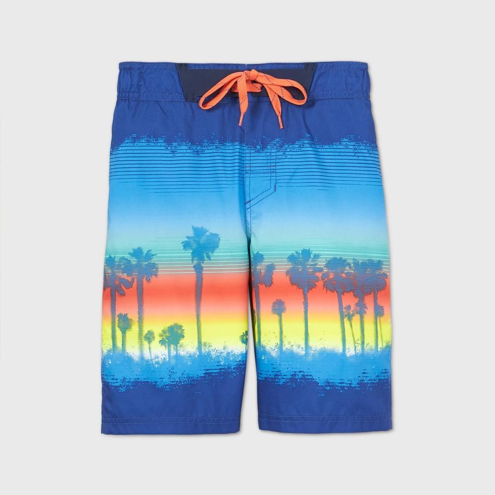 Discounts Boys' Palm Photo Real Swim Trunks - Cat & Jack™