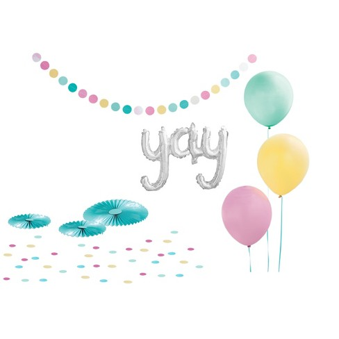 """Yay"" Party Decor Kit - Spritz™ - image 1 of 2"