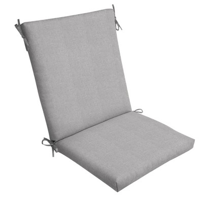 Paloma Woven Outdoor Chair Cushion Gray - Arden Selections