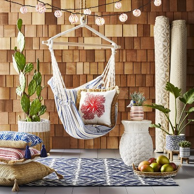 Red White And Blue Bohemian Outdoor